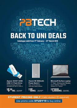 Electronics & Appliances offers in the PB Tech catalogue in Auckland