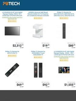 PB Tech catalogue ( 1 day ago )