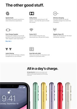 Electronics & Appliances offers in the Apple catalogue ( More than a month )