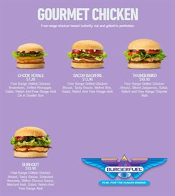 Offers from BurgerFuel in the Auckland special