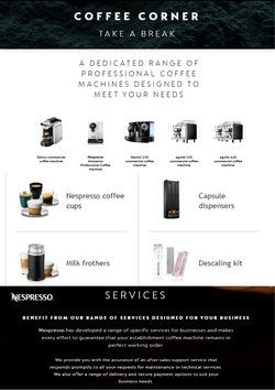 Nespresso catalogue ( Expired )