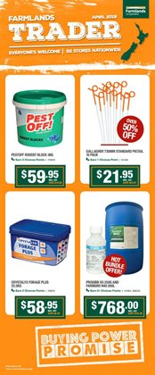 Grocery & Liquor offers in the Farmlands catalogue in Hastings
