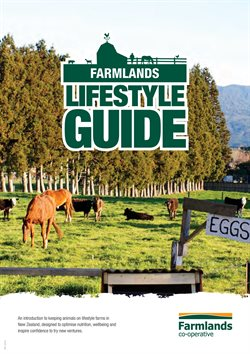 Grocery & Liquor offers in the Farmlands catalogue in Carterton
