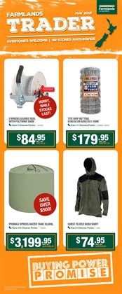 Offers from Farmlands in the Auckland special