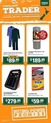 Cars, motorcycles & spares offers in the Farmlands catalogue in Auckland