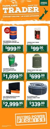 Hardware & Garden offers in the Farmlands catalogue in Pukekohe ( 18 days left )