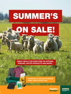 Hardware & Garden offers in the Farmlands catalogue in Tauranga ( More than a month )