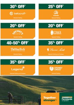 Hardware & Garden offers in the Farmlands catalogue in Auckland ( 7 days left )