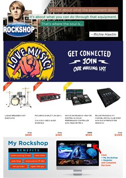 Offers from Rockshop in the Auckland special