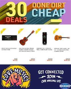 Offers from Rockshop in the Hamilton special