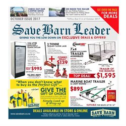 Offers from Save Barn in the Auckland special