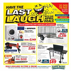 Hardware & garden offers in the Save Barn catalogue in Auckland