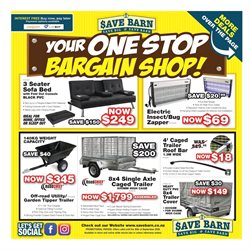 Hardware & Garden offers in the Save Barn catalogue in Auckland ( 9 days left )
