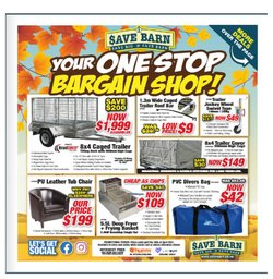 Save Barn catalogue in Lower Hutt ( 8 days left )