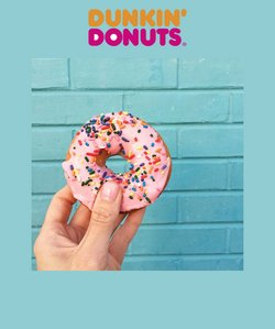 Dunkin Donuts offers in the Dunkin Donuts catalogue ( 2 days left)