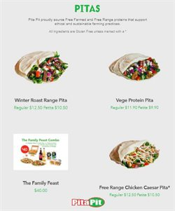 Restaurants offers in the Pita pit catalogue in Auckland