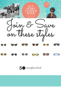Sunglass Hut catalogue ( 2 days ago )