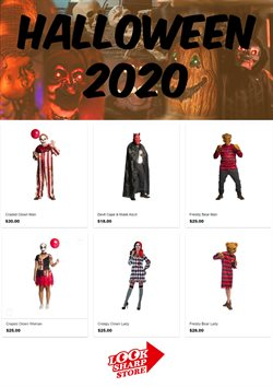 Halloween offers in the Looksharp catalogue ( 6 days left)
