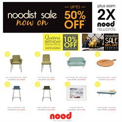 Offers from Nood in the Auckland special