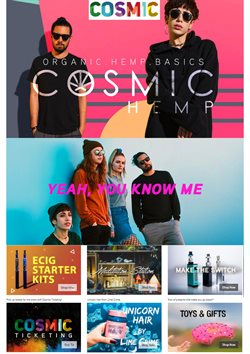 Offers from Cosmic in the Christchurch special