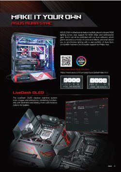 Asus catalogue ( More than a month )
