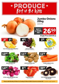 Offers from Gilmours in the Auckland special