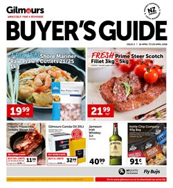 Grocery & Liquor offers in the Gilmours catalogue in Auckland