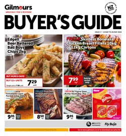 Offers from Gilmours in the Palmerston North special