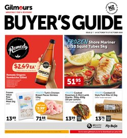 Supermarkets offers in the Gilmours catalogue in Auckland