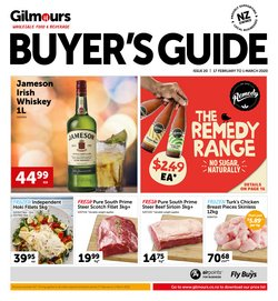 Gilmours catalogue in Hamilton ( 9 days left )