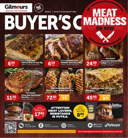 Supermarkets offers in the Gilmours catalogue ( 20 days left)