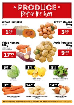 Supermarkets offers in the Gilmours catalogue ( Published today)