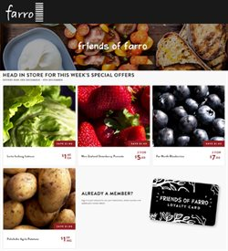 Offers from Farro Fresh in the Auckland special