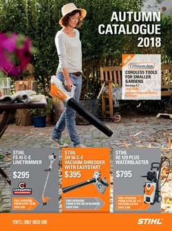 Hardware & garden offers in the Stihl catalogue in Katikati