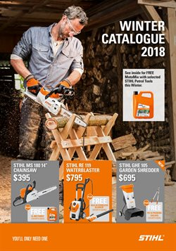Hardware & garden offers in the Stihl catalogue in Carterton