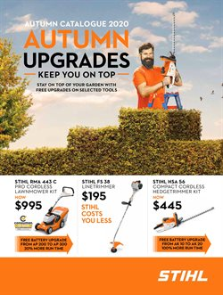 Stihl catalogue ( More than a month )