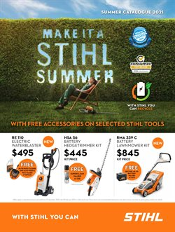 Hardware & Garden offers in the Stihl catalogue in Hamilton ( More than a month )