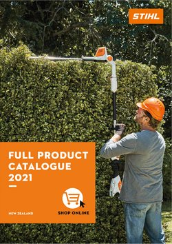 Hardware & Garden offers in the Stihl catalogue ( More than a month)
