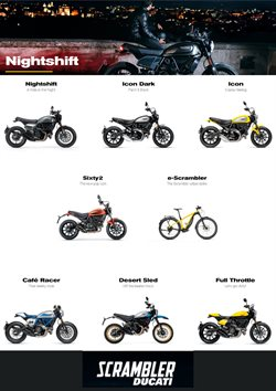Ducati catalogue ( More than a month )