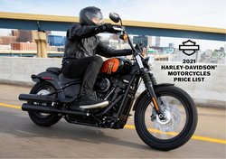 Harley Davidson offers in the Harley Davidson catalogue ( More than a month)
