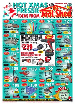 Hardware & garden offers in the The Tool Shed catalogue in Rotorua