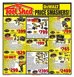 Offers from The Tool Shed in the Auckland special