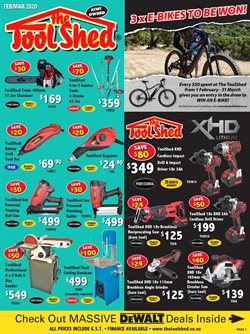 The Tool Shed catalogue ( More than a month )