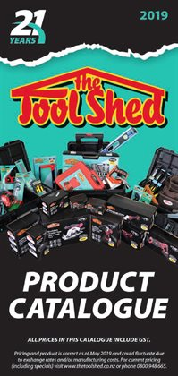 The Tool Shed catalogue ( 26 days left )