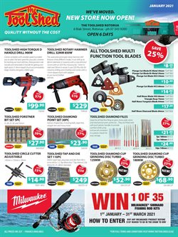 Hardware & Garden offers in the The Tool Shed catalogue in Tauranga ( 15 days left )