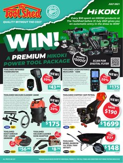The Tool Shed offers in the The Tool Shed catalogue ( 4 days left)