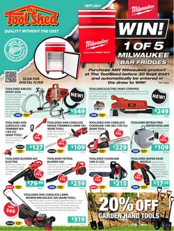 Hardware & Garden offers in the The Tool Shed catalogue ( 9 days left)