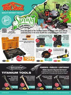 The Tool Shed catalogue ( 9 days left)