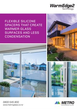 Offers from Metro Performance Glass in the Auckland special