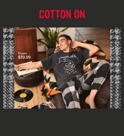 Clothes, Shoes & Accessories offers in the Cotton on catalogue ( Published today)